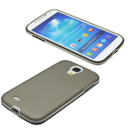 Wholesale Galaxy S4 S Iv - S5Q Rubber Case Cover Soft Slim Translucent For Samsung Galaxy S4 S IV I9500 AAADOG