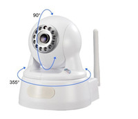IPS 1Megapixel 720P Fotocamera Wi-fi Pan / Tilt Due vie audio Day / Night Supporto domestico SD Card HD IP Camera di sicurezza