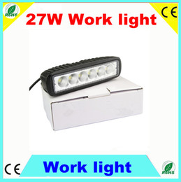 Wholesale Spot Led Slim - Slim 18w 6X3W LED Work Light Spot Beam Off-Road Light Lamp, IP67 Fog driving Bar 4WD truck Car Cree LED Off Road Lighting