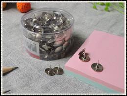 Wholesale Thumbtack Wholesalers - High quality Stainless Steel stationery material thumbtack pin drawing pin pushpin office supplies 1200pcs B1-005