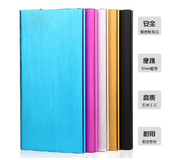 Wholesale Powerbank Brand - Top selling Brand New 12000 mAh Ultra-thin Universal Mobile Power Bank Powerbank Charger Battery for Galaxy S5 iPhone 5S 5 Free shipping