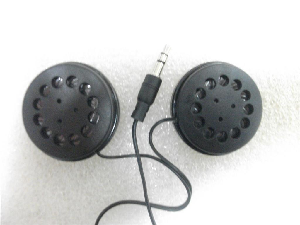 Auriculares estéreos de la venda plana de 3.5mm Auriculares baratos con los auriculares grandes del altavoz envío libre por correo