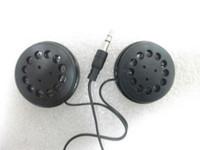 mensajes de orador al por mayor-Auriculares estéreos de la venda plana de 3.5mm Auriculares baratos con los auriculares grandes del altavoz envío libre por correo