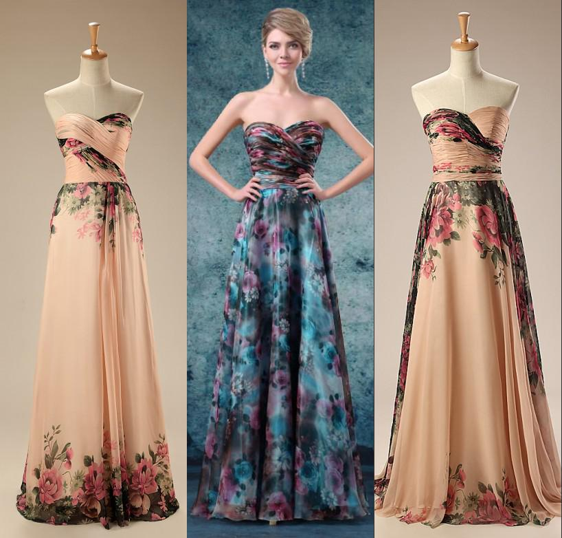 Modern Colorful Evening Dresses 2018 A Line Sweetheart Special
