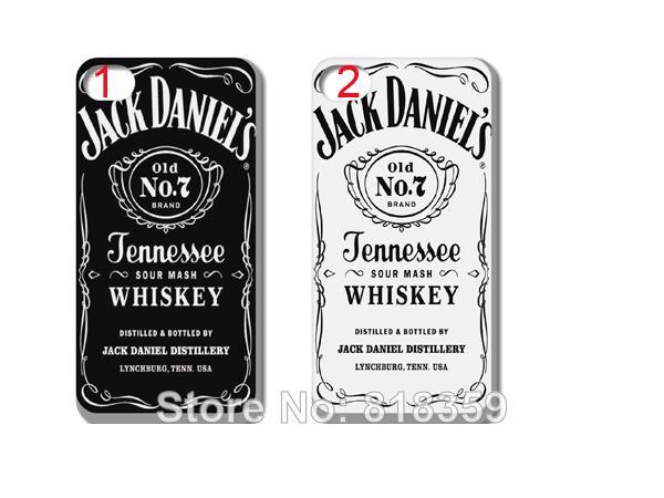 New Skin Design Jack Daniels Case Black Hard Back Cover For Iphone ...