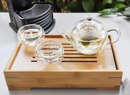 2019 flores em vaso fácil Chegam novas 250 ml bule de vidro bule de chá fácil uso conjunto de chá para fazer flor chá e café desconto flores em vaso fácil