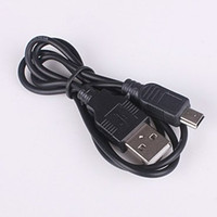 Wholesale Mp3 Mp4 Classic - Wholesale-407-100 Pieces Free Shipping 2FT 5PIN Mini B to A USB 2.0 Cable MP3 MP4 Camera