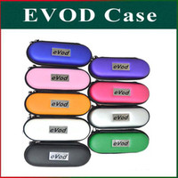Wholesale Ce5 Carrying Case - Colorful EVOD Case EVOD Carry Case EGO Zipper Bag For CE4 CE5 VIVI Protank MT3 EGO 510 Electronic Cigarette S M L Size DHL Freeshipping