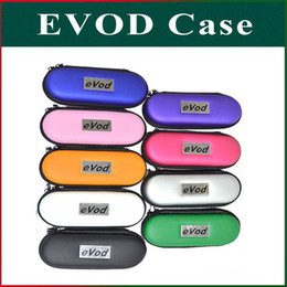 Wholesale Ego L - Colorful EVOD Case EVOD Carry Case EGO Zipper Bag For CE4 CE5 VIVI Protank MT3 EGO 510 Electronic Cigarette S M L Size DHL Freeshipping