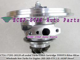 Wholesale Toyota Ct16 - Turbo CHRA Cartridge Turbocharger CT16 17201-30120 1720130120 oil cooled For TOYOTA HI-ACE HI-LUX HiAce HiLux 2KDFTV 2KD 2KD-FTV 2.5L 102HP