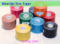 Wholesale Tex Tape Wholesale - New 2014 Kinesio Tex Tape Muscle Joint Kinesiology Cure Tape Preventative Measures Colorful Therapeutic Tapes Natural Healing Process Patch