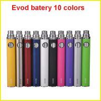 Wholesale mini mt3 kit - EGO E Cigarette EVOD Battery 650 900 1100mAh battery for MT3 CE4 CE5 CE6 mini protank atomizer clearomizer E cig Kit 10 colors