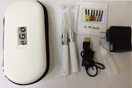 Wholesale Egot Starter Kits - Wholesale - Ego eGoT GS-H2 atomizer twin pack 650mah 900mah 1100mah battery starter kit T Shisha Pen Electronic Cigarette ecig E Cigarette,