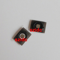 Wholesale Home Button Gasket Iphone 4s - 20pcs lot Home Button Key With Holder Rubber Gasket Metal Pad For iPhone 4S New Black White Free Shipping