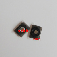 Wholesale Button Black Home 4s - Home Button Key With Holder Rubber Gasket Metal Pad For iPhone 4S New Black White Free DHL EMS