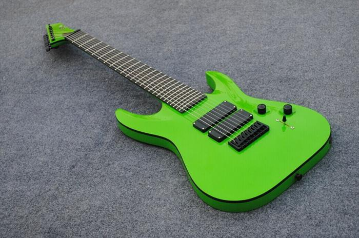 new brand 8 string electric guitar in green color classical guitar alvarez electric guitar from. Black Bedroom Furniture Sets. Home Design Ideas