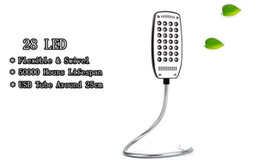 Read top online shopping - Top quality Mini Flexible LED USB Light Reading Lamp For Notebook Laptop