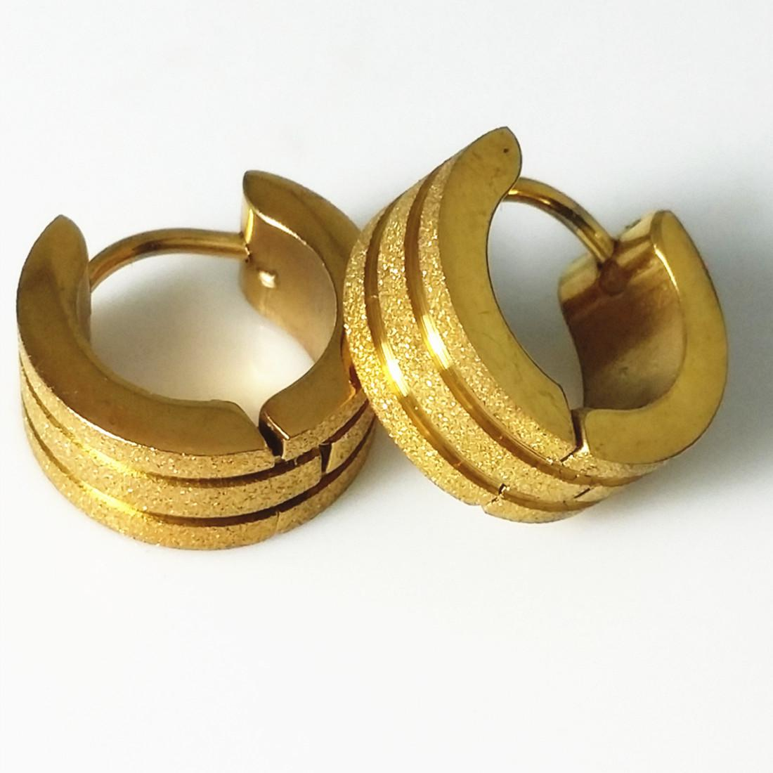 hoop earrings com jewelry golden gold ring yellow dp amazon diameter