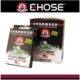 $enCountryForm.capitalKeyWord Canada - Ecig original Starbuzz mini E Hose cartridges refillable 14 flavours E Hose atomizer clearomizer battery for Starbuzz ehose mods 4pcs pack