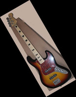 Wholesale Vintage String Bass - strings bass Vintage 4 strings Sunburst JAZZ electric bass Guitar HOT SALE 140605