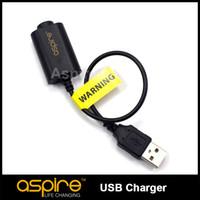 Wholesale Ego T Charge - Wholesale - Aspire ego USB charger for charging ego Battery Aspire ego USB charger for All ego t geo c battery Free Shipping