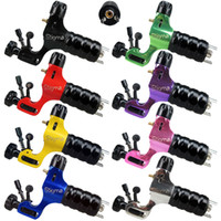 Wholesale Tattoo Stigma Prodigy - Solong Tattoo New Design Stigma Rotary Tattoo Machine Gun Prodigy Style 3 Stroke Excenters 8 Color for choose M661