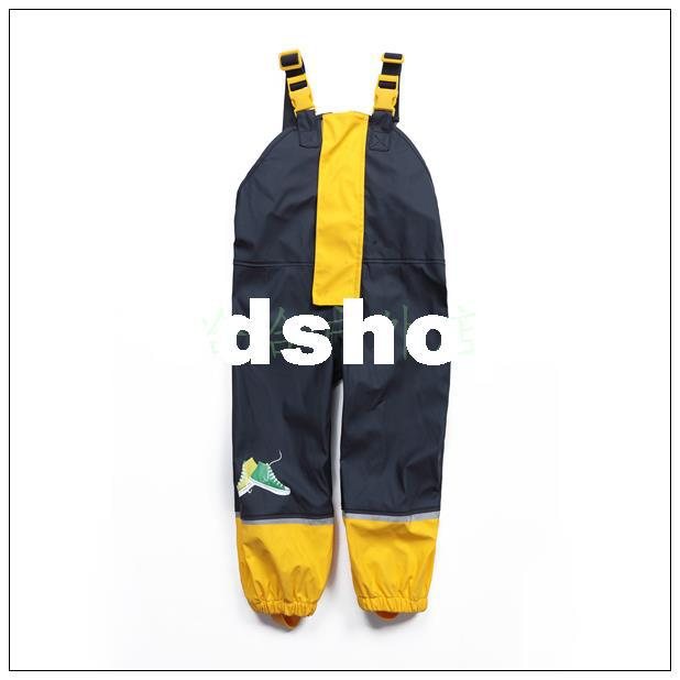 473b98c5f 2019 Wholesale 407 Lupilu Child Rain Proof Pants PU Rain Protector ...