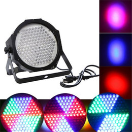 Wholesale Wholesale Dmx Led Lights - High Quality 127 Led Professional Par Lights RGB LED Stage Light DMX512 Effect Lamp 7Channel Par Lights Disco DJ Show Stage Par Light New