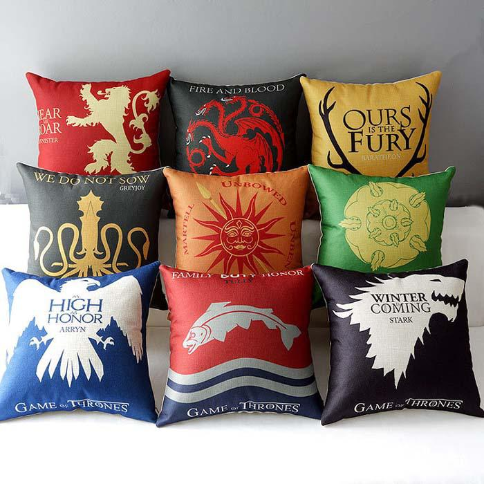 Styles Sofa Cushion Covers Game Of Thrones Ice And Fire Pillow - Sofa game