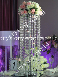 Chinese  crystal candle holder with Flower Stand,Wedding Flower Stand Centerpiece manufacturers