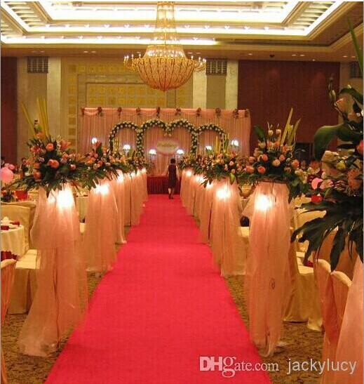 2016 new wedding favors red carpet aisle runner for wedding party see larger image junglespirit Image collections