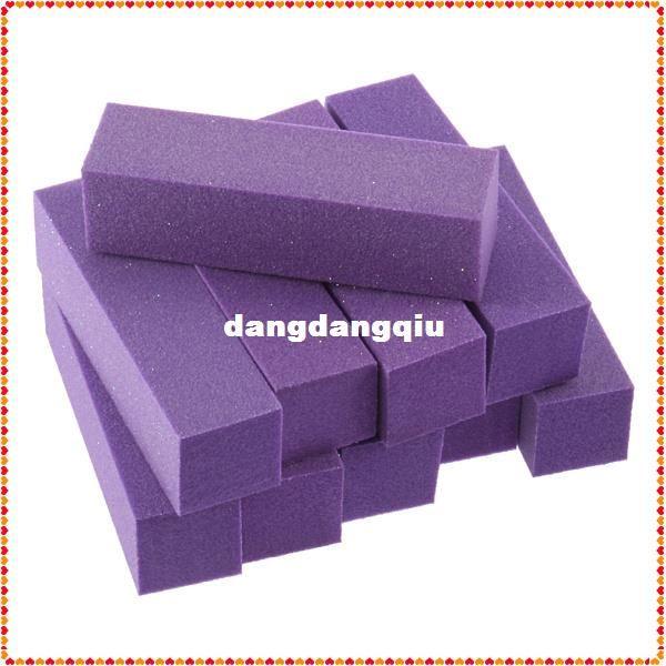 Wholesale-407-10pcs Buffer Buffing Sanding Files Block Acrylic Nail Art Tips Manicure Tool