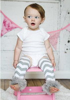 Wholesale Chiffon Ruffle Leggings - Ruffle leggings Photo Prop Baby Leg Warmers Grey Chevron Leg Warmers Chiffon Ruffle Infant Toddler legging