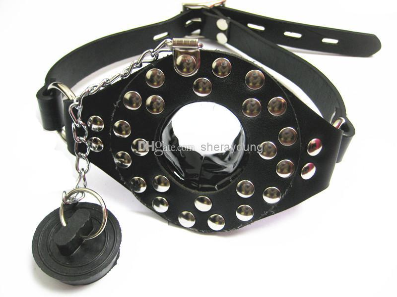 O Ring Gag Stopper BDSM Bondage Partner Force Open Mouth Gear Removable Cover Restraints Porn Adult Sex Products for her XLY-MG014