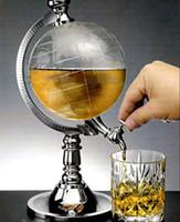 berühre bambus großhandel-Kunststoff-Wasserhahn-Kugel-Wasser-Bier-Getränk-Getränkespender-Werkzeugmaschine Gießen Sie Rack-Brunnen Bartending-Geräte Drinkware Globus