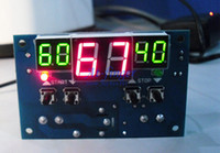 Wholesale Digital Display Thermostat - -9-99C DC 12V Intelligent digital display thermostat Temperature controller With NTC sensor FREE SHIPPING F0012