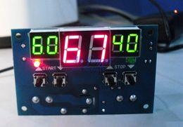 Wholesale Dc 12v Sensor - -9-99C DC 12V Intelligent digital display thermostat Temperature controller With NTC sensor FREE SHIPPING F0012