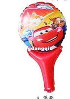 büyük boy balonlar toptan satış-Toptan-407-Yeni toptan büyük boy 50 adet araba sihirli çubuğu kiraz düğün çubuğu doğum günü balon dekorasyon