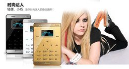 Wholesale Hot Model Mp3 - hot selling ! AIEK M3 personalized touch mini ultra 6.5mm slim card machine small MP3 music radio Bluetooth GPRS phone card