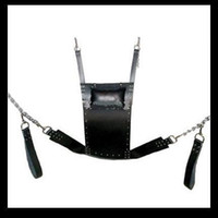 2018 New Top Leather Sex Swing Hammock Bundled Sex Tools Multi-function Berth Trapeze Adult Sex Game Product Bondage Bdsm Toy SM452