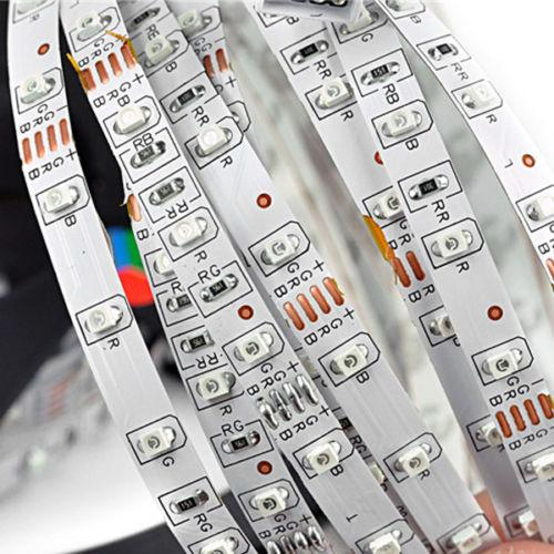 500M Blue LED Strip Lights 3528/5050/5630 SMD RGB/White/Warm/Red Waterproof nonWaterproof 300LEDs Flexible Single Color By DHL