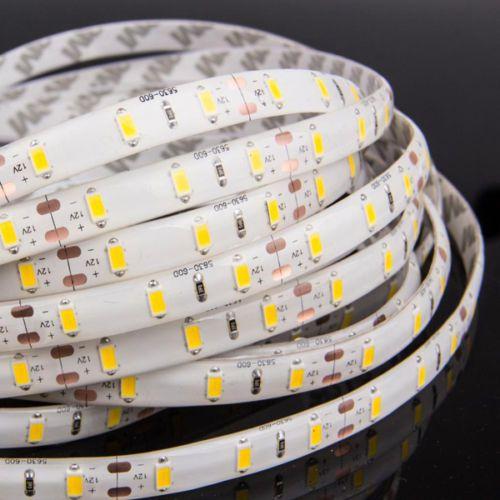 Luces de tira LED azules 500m 3528/5050/5630 SMD RGB / BLANCO / CALIENTE / ROJO A prueba de agua a prueba de agua 300leds Flexible de un solo color por DHL