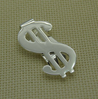 Wholesale Money Clip 925 Silver - Wholesale-MN-WC7 925 Silver US Dollar Money Clip , Fashion Jewelry, silver fashion men's money clips, High quality