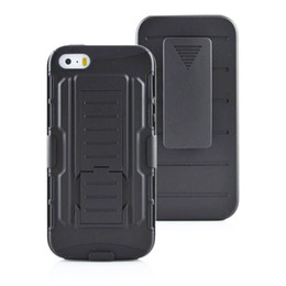 Wholesale Iphone 5s Belt - For iphone 7 active 6 6s plus Future Armor Impact Hybrid Hard Case Cover + Belt Clip Kickstand Stand i phone 5 5s 4s