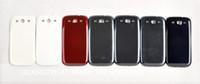 ingrosso copertura della batteria della galassia s4-Coperchio alloggiamento porta batteria per Samsung Galaxy S3 I9300 S4 I9500 I9505 Alloggiamento posteriore; DHL libera il trasporto