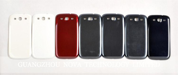Battery Door Back Housing Cover For Samsung Galaxy S3 I9300 S4 I9500 I9505 Back housing; DHL Free Shipping