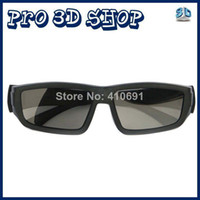 Wholesale Glass For Tv Lg 3d - Free shipping 5pcs Lot Circular Polarized 3D Glasses for RealD 3D Cinemas and LG Passive Cinema 3D TV