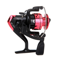 Wholesale Spinning Reel 3bb - 3BB Ball Bearings Left Right Hand Interchangeable Collapsible Handle Fishing Spinning Reel SE200 5.2:1 For Outdoor Sports H9849