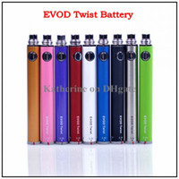 eGo EVOD- Twist Battery Colorful Twist Battery 650mah 900mah ...