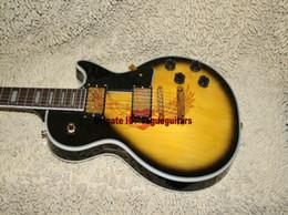 Cheap high quality guitars online shopping - Custom Guitars New Arrival Custom Electric Guitar Tobacco Burst Mahogany High Quality OEM Cheap
